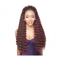 French Deep Caribbean Faux remi Fiber Bundle Braids P27/30